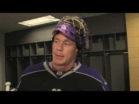 JOHN CENA... NHL GOALIE??