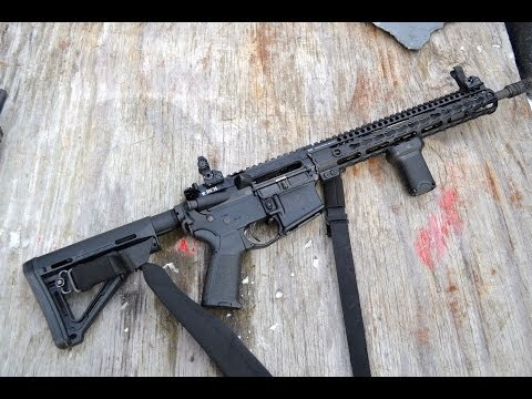Bravo Company Manufacturing lightweight AR upper range review