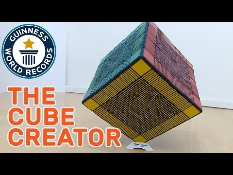 Gregoire Pfennig: The Rubik's Cube Creator - Meet The Record Breakers Europe