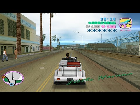GTA Vice City - Stolen Cars Part #5: Voodoo, Cuban Hermes Mr. Whoopee,  Baggage Handler-Starter Save