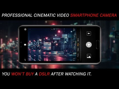 Shoot Professional Amazing Cinematic movie style videos with Smartphone Camera ! New Easy Way 🔥⚡