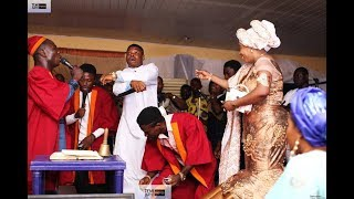 Woli Agba live with Pastor  Prophetess Israel  Mary Olubori