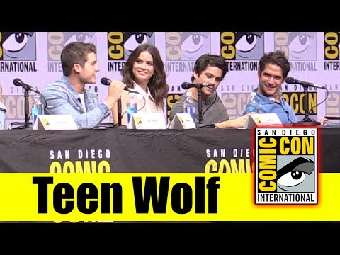 TEEN WOLF | Comic Con 2017 Full Panel, & Final Season News (Tyler Posey, Dylan O'Brien)