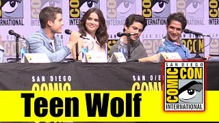 TEEN WOLF | Comic Con 2017 Full Panel, & Final Season News (Tyler Posey, Dylan O