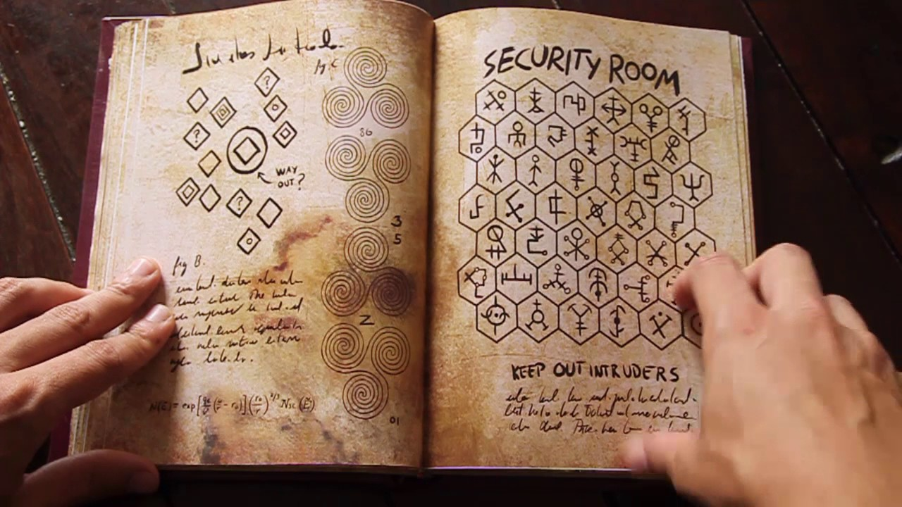 Libro Gravity Falls: Journal 3 artesanal - YouTube