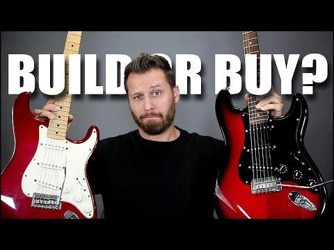 BUILD or BUY?? - We Test 3 Affordable Stratocasters!
