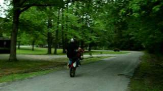 wheeles on  2003 honda xr80r