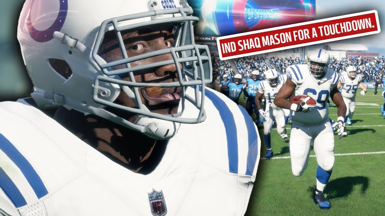 Hilarious Fat Man Touchdown! Madden 18 Colts Connected Franchise Ep. 43 (S3)
