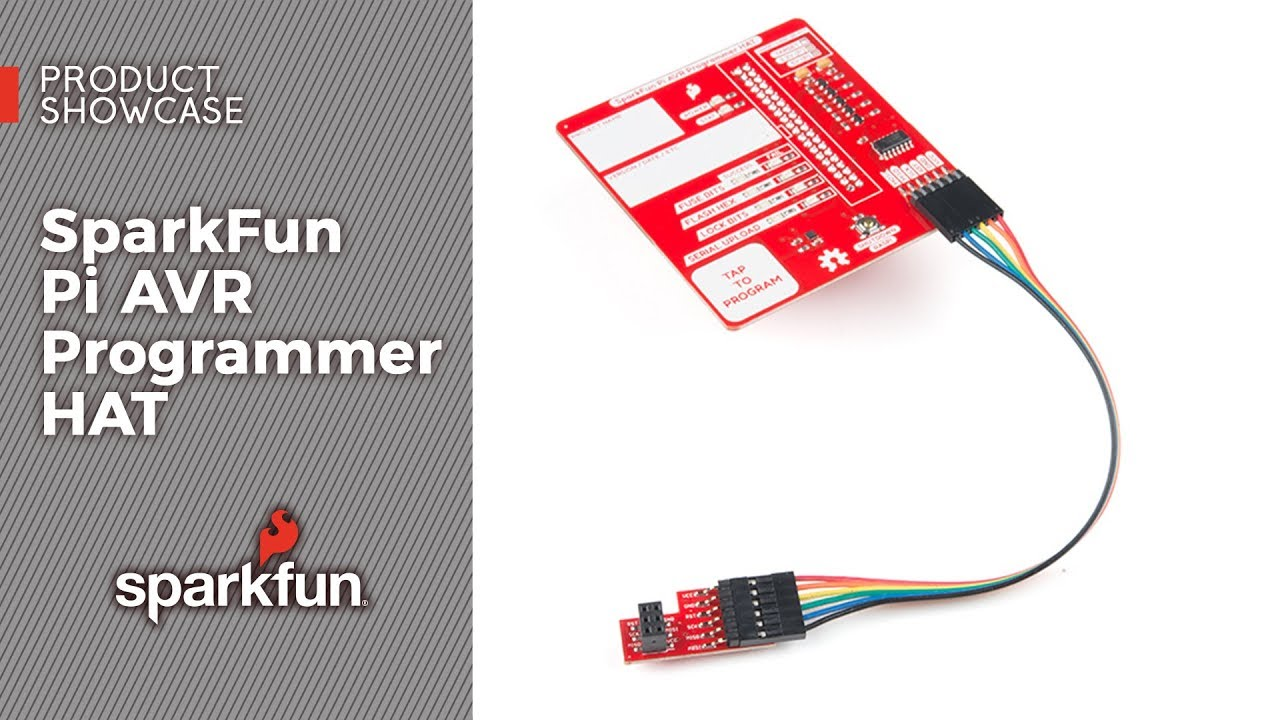 Product Showcase Sparkfun Pi Avr Programmer Hat Youtube Serial And Pic