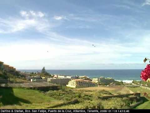2009 01 18 puerto de la cruz playa jard n atl ntico webcam time lapse youtube - Puerto de la cruz webcam ...
