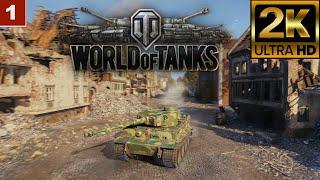2K World of Tanks gameplay wargaming танки онлайн игра 06.03.2021