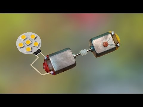 How to Make a Free Energy Light Bulbs । Lifetime Power Free (100% work)