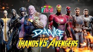 Dance Gemu Famire Ala Avenger Dan Thanos