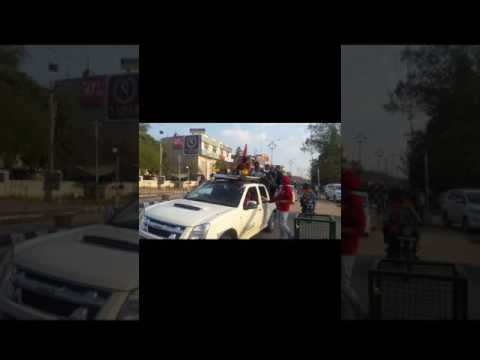 CONGRESS ROAD SHOW IN PUNJAB (FZR.) AFTER WINNING ELECTION | MLA PARMINDER SINGH PINKI | FULL HD