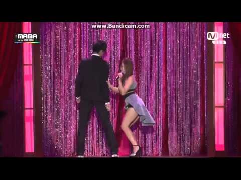 141203 Girl's Day - Something & Ailee - Don't Touch Me @ 2014 MAMA