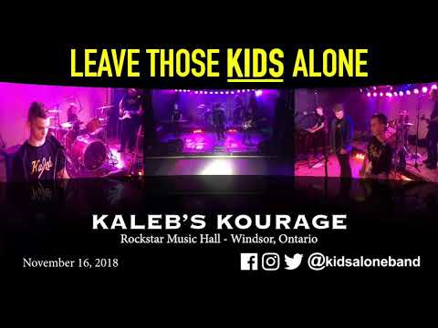 Leave Those Kids Alone   Full Performance, Rockin for Kaleb's Kourage