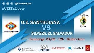 Unió Esportiva Santboiana vs SilverStorm El Salvador C.R. DH/J2