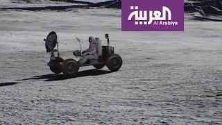 العربية على سطح القمر
