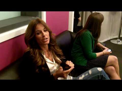 Kelly Killoren Bensimon behind the scenes at LXTV.