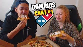 DOMINOS PIZZA CHAT MED LLOYD OG SARA #1🍕