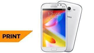 Como Tirar Print No Celular Samsung Galaxy Gran Duos