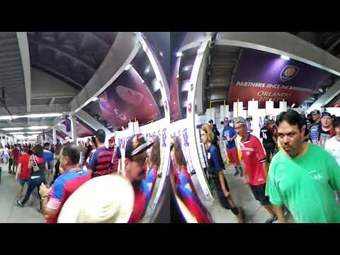 Walking out of the Stadium on USA vs Panama