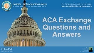 Georgia Health Insurance Exchange Questions & Answers