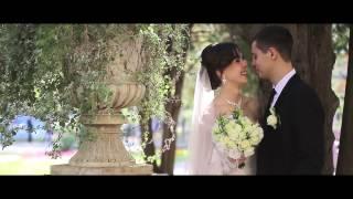 Белое платье, белая фата (свадебный клип)