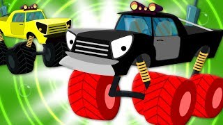 The Wheels On The Monster Truck | Cartoon Videos For Children by Kids Tv