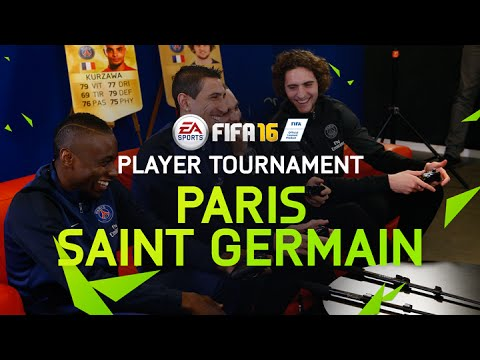 FIFA 16 – Paris Saint-Germain Player Tournament – Matuidi, Rabiot, Di Maria, and Kurzawa