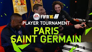 FIFA 16 - Paris Saint-Germain Player Tournament - Matuidi, Rabiot, Di Maria, and Kurzawa