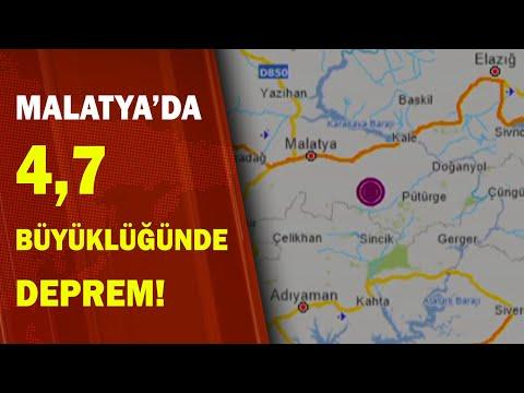 SON DAKİKA: Malatya'da Korkutan Deprem! Elazığ'da da Hissedildi! / A Haber