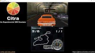 Citra 3DS Emulator - Chevrolet Camaro Wild Ride 3D Ingame! (cro/fragment lighting/audio) wip