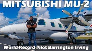mitsubishi-makes-airplanes-mu-2-with-record-pilot-barrington-irving