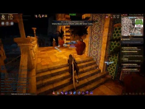 Black Desert Online - Running to The Kingdom of Valencia from Altinova