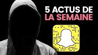 Snapchat paradis des dealers, débat sur le voile, musulmans ciblés en Chine... 5 actus de la semaine