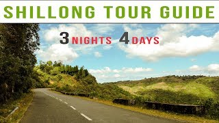 Shilllong Tour Plan | 3 Nights 4 Day Shillong Tour Package