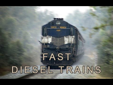 Fast Diesel Trains | Indian Railways
