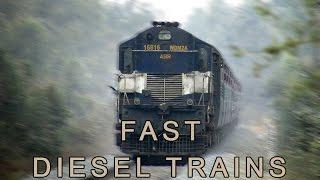 Fast Diesel Trains | Indian Railways