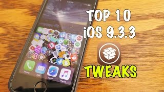 Top 10 Free Cydia Tweaks for iOS 9.3.3 Jailbreak compatible