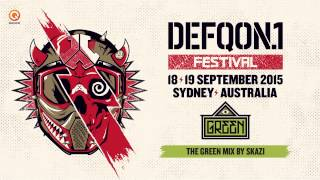 Defqon.1 Australia 2015 | GREEN mix by SKAZI