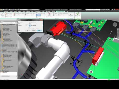 Autodesk Inventor - Electrical Routing