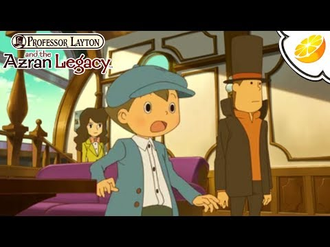 Professor Layton and the Azran Legacy - Citra Emulator (GPU Shaders, Playable) - Nintendo 3DS - 동영상
