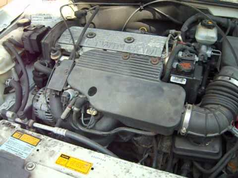 2000 olds alero 2 4 cyl leaking coolant youtube rh youtube com  2001 olds alero engine diagram