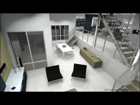 Modern Kitchen Design 3d Animation Award Winning Kitchen Design By Minosa Youtube
