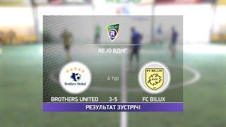 Обзор матча Brothers United 3 5 FC Bilux Турнир по мини футболу в Киеве