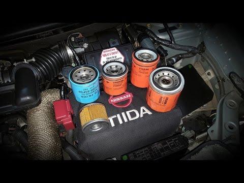Filtros de óleo porque mudar? Nissan Tiida, Sentra, Livina, March, Versa,....