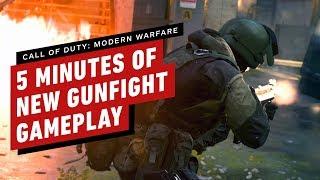 Call of Duty: Modern Warfare – 5 Minutes of New Gunfight 2v2 Gameplay