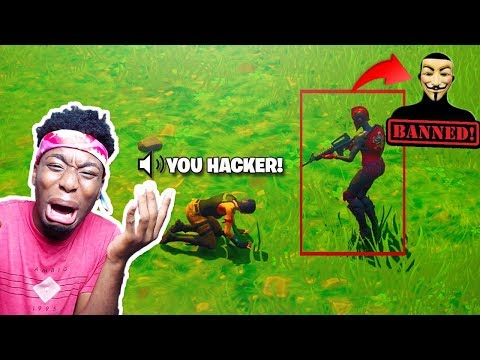 I 1v1d A FORTNITE HACKER AND THIS HAPPENED... EXPOSING FortniteHackGod + 800k Giveaway