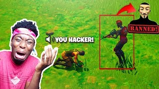 I 1v1'd A FORTNITE HACKER Y ESTE HAPPENED... EXEXPOSICIÓN FortniteHackGod + 800k Regalo